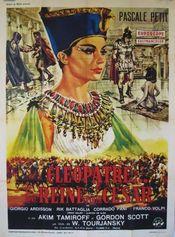 Poster Una regina per Cesare