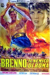 Poster Brenno il nemico di Roma