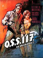 Poster OSS 117 se déchaîne