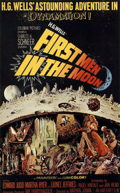 Poster First Men in the Moon