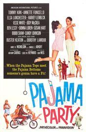 Poster Pajama Party