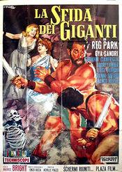 Poster La sfida dei giganti