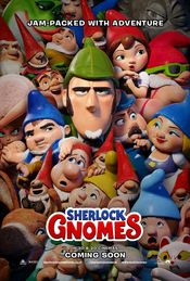 Poster Gnomeo & Juliet: Sherlock Gnomes