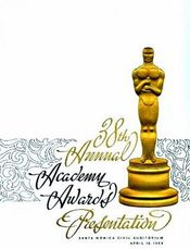 Poster The 38th Annual Academy Awards