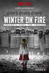 Poster Winter on Fire: Ukraine's Fight for Freedom