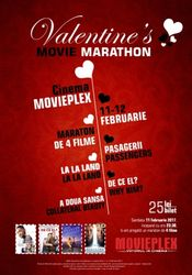 Poster Valentine's Movie Marathon