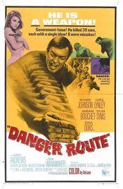 Poster Danger Route