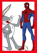 Bugs Bunny şi Spiderman