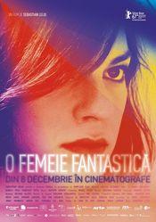Poster Una mujer fantástica