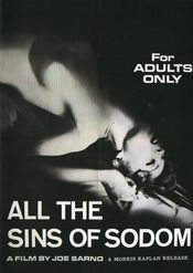Poster All the Sins of Sodom
