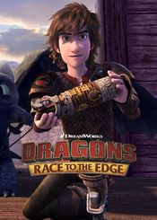 Poster Dragons: Race to the Edge
