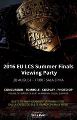 2016 EU LCS Summer Finals Viewing Party