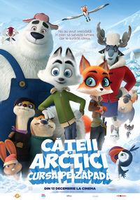 Poster CATEII ARCTICI: CURSA PE ZAPADA - DUBLAT