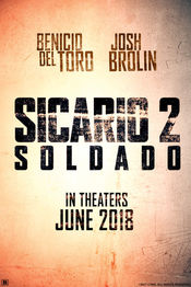Poster Sicario 2: Soldado