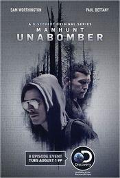 Poster Manhunt: Unabomber