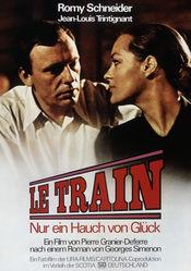 Poster Le train