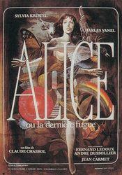 Poster Alice ou la dernière fugue