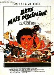 Poster Bête, mais discipliné