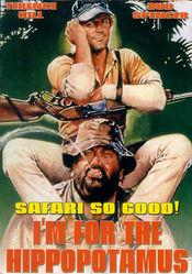 Poster Io sto con gli ippopotami