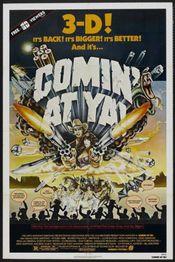 Poster Comin' at Ya!