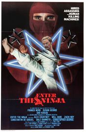 Poster Enter the Ninja