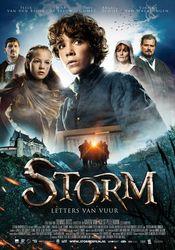 Poster Storm: Letters van Vuur