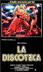 Poster La discoteca