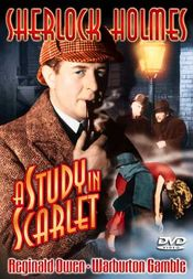 Poster Sherlock Holmes and a Study in Scarlet