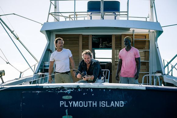 Djimon Hounsou, Matthew McConaughey, Jeremy Strong în Serenity