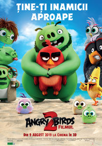 Poster ANGRY BIRDS 2: FILMUL - 3D - DUBLAT