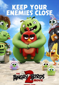 Poster THE ANGRY BIRDS MOVIE 2