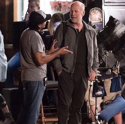 Bruce Willis, M. Night Shyamalan în Glass