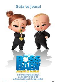 Poster BOSS BABY: AFACERI DE FAMILIE - 3D - DUB