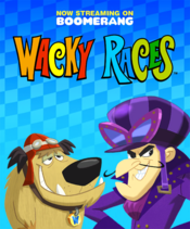 Poster Wacky Races
