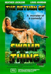 Poster The Return of Swamp Thing