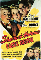 Poster Sherlock Holmes Faces Death