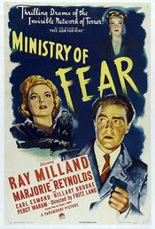 Poster Ministry of Fear