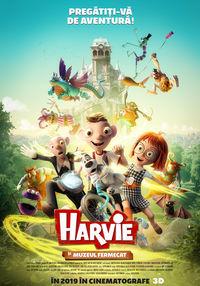 Poster HARVIE SI MUZEUL FERMECAT - 3D - DUBLAT