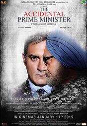 Poster The Accidental Prime Minister