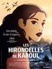 Poster Les hirondelles de Kaboul