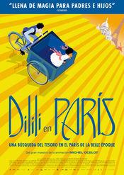 Poster Dilili à Paris
