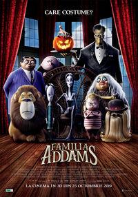 Poster FAMILIA ADDAMS - 3D