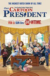 Poster Our Cartoon President