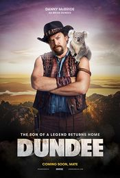 Poster Tourism Australia: Dundee - The Son of a Legend Returns Home
