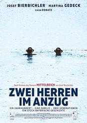 Poster Zwei Herren im Anzug