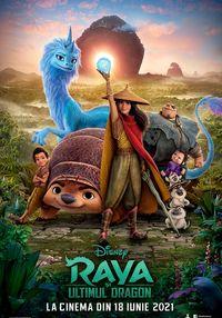 Poster RAYA SI ULTIMUL DRAGON 3D DUBLAT