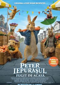 Poster PETER IEPURASUL: FUGIT DE ACASA - DUBLAT
