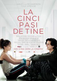 Poster LA CINCI PASI DE TINE