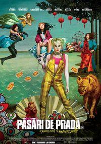 Poster PASARI DE PRADA SI FANTASTICA HARLEY QUINN