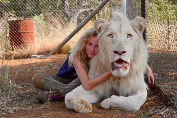 Daniah De Villiers în Mia and the White Lion